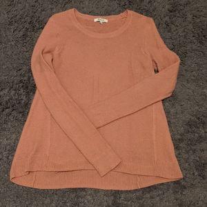 Dusky Pink Madewell Sweater